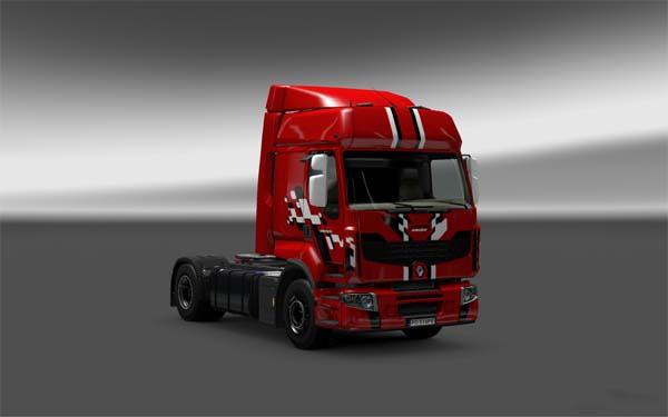 Renault Premium skins PACK