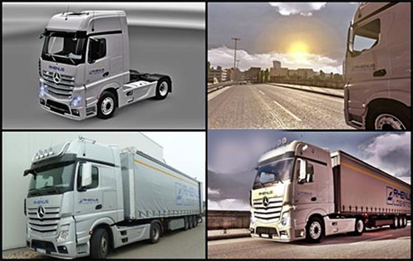 Rhenus Logistics skin MP4