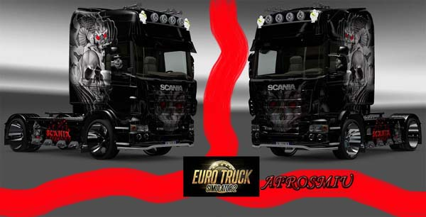 SCANIA Nightmare Truch skin