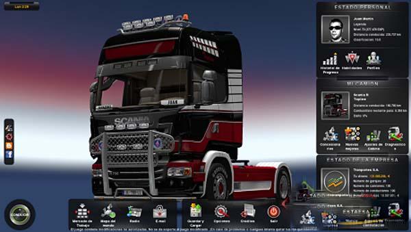 ЗИЛ 130 и прицеп-телега для Euro Truck Simulator 2. Save 100% для Euro Truc