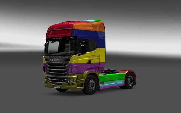 Scania Bunter farben skin v1
