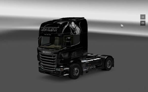 Scania Grim Reaper Skin