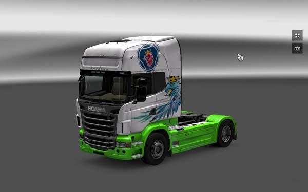 Scania Gryf skin