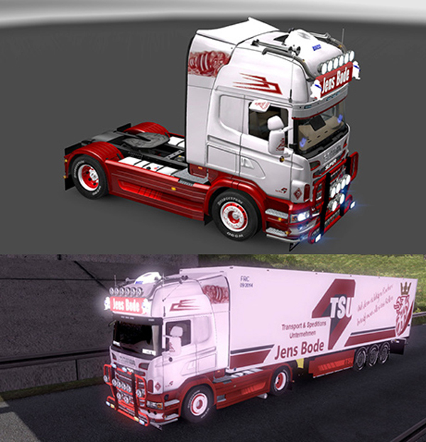 Scania Jens Bode Skin Pack
