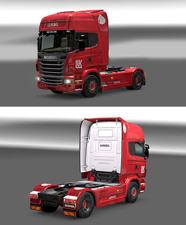 Scania Lukoil skin