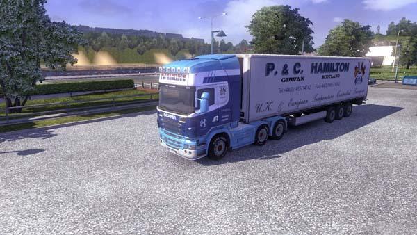 Scania PC HAMILTON + Trailer
