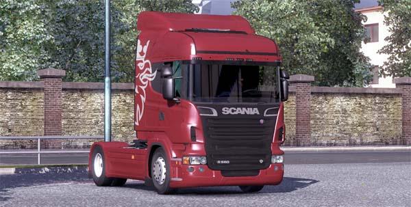 Scania R560 V8 image