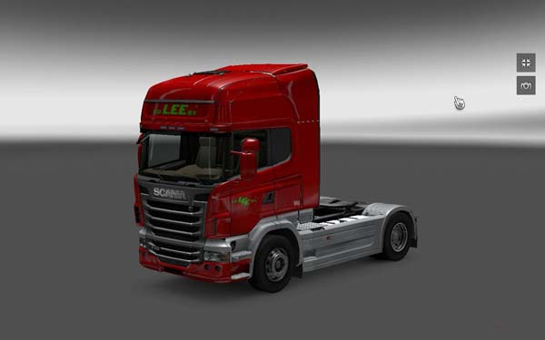 v.d. Lee b.v. skin for Scania Topline image