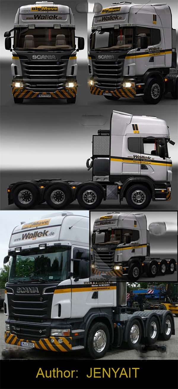Skin Scania Wallek
