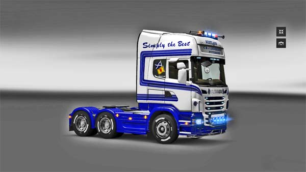 Skin for Scania Anderson