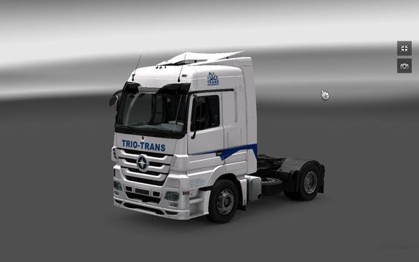 TRIO TRANS Logistics skin