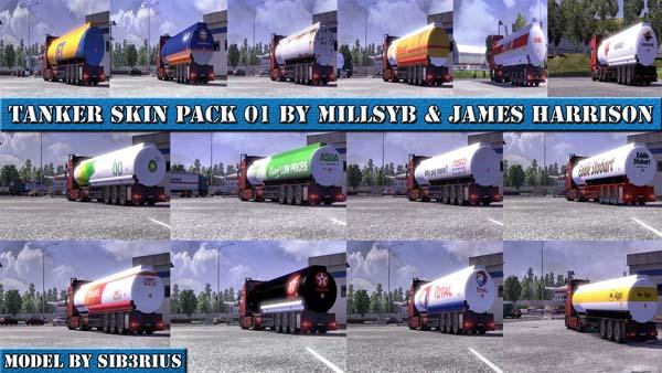 Tanker skin pack 01
