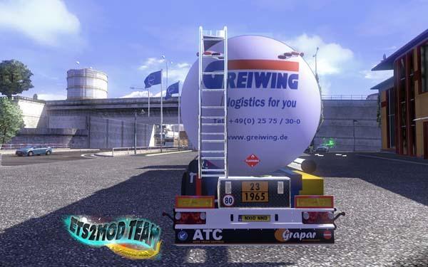 Trailer Cisterna de Fuel ADR