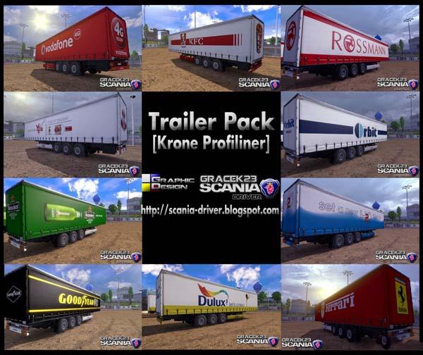 Trailer Pack Krone Profiliner
