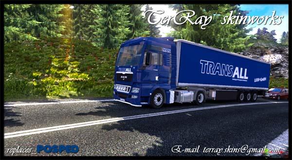 TransALL MAN + Trailer skin