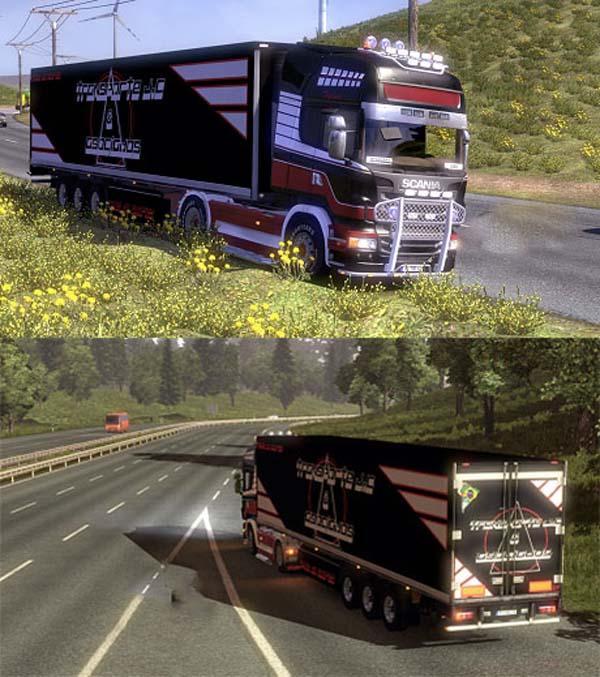 Transporte J.C  Asociados trailers