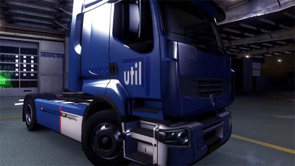 Util skin for Renault