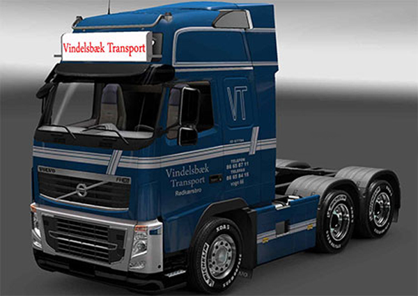 Vindelsbæk Transport skin
