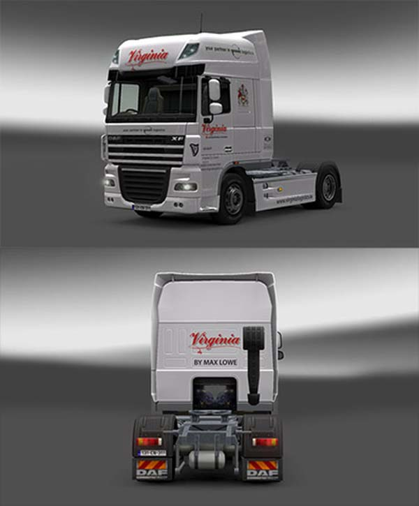 Virginia Logistics DAF skin
