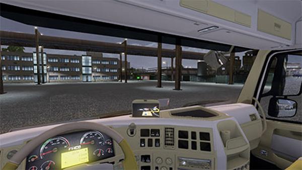 Volvo Mega interior