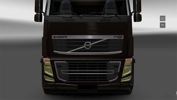 Volvo yellow lights