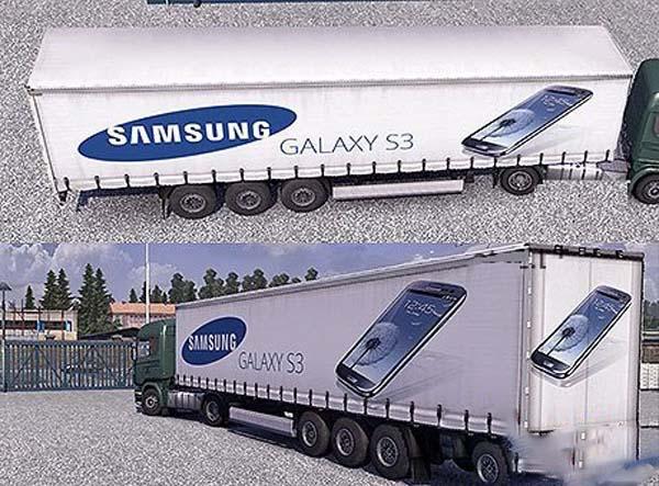 Samsung Galaxy S3 trailer
