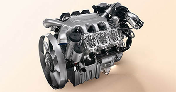 Actros real engine sound