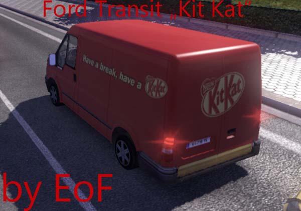 Ford Transit Kit-Kat Skin image