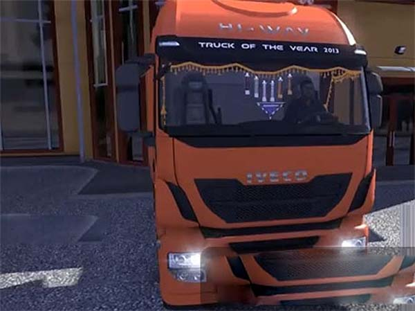 Iveco High Way Interior