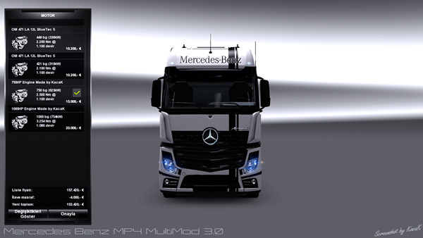 Mercedes Benz MP4 Multimod 3.0