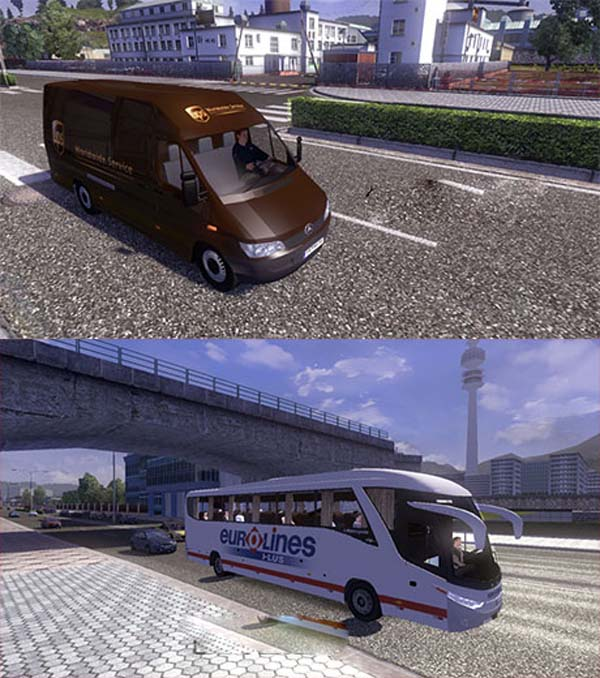 Mod Bus & Sprinter – ETS2planet com