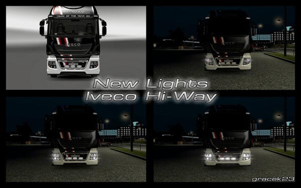 New Lights for Iveco