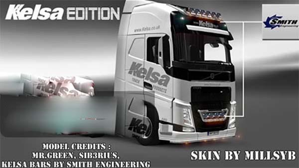 New Volvo FH Kelsa Edition