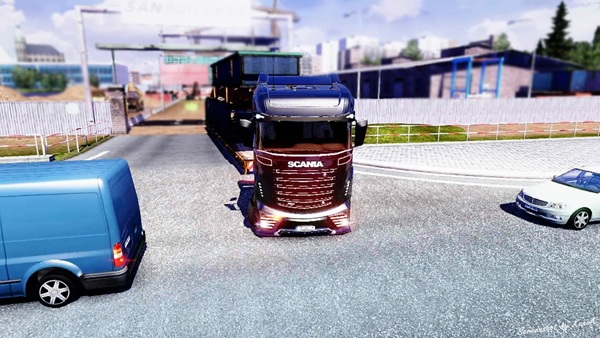 OVERSIZE LOAD Updated for 1.4.1+ and Scania R1000 image