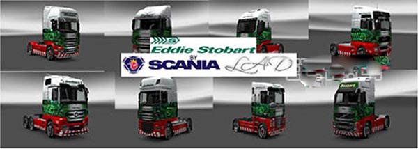 Stobart company mod and skins