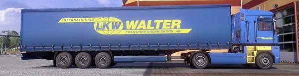 Walter truck trailer skin