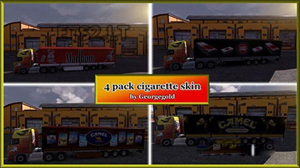 4 trailer pack skin