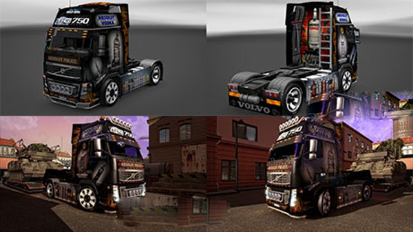 Absolut Volvo FH16 skin
