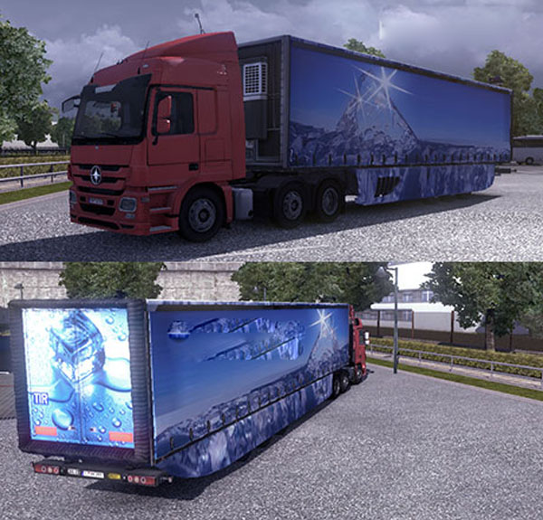 Aero Dynamic Trailer Winter Skin