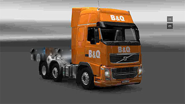 B&Q Volvo skin