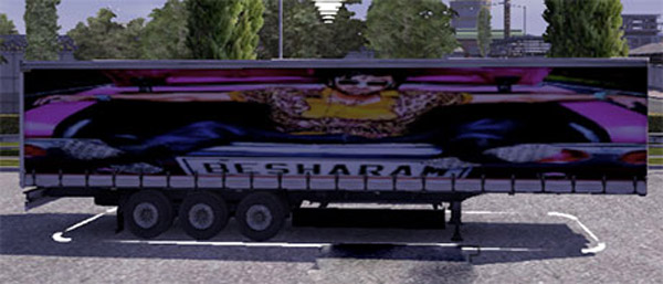 Besharam movie trailer skin