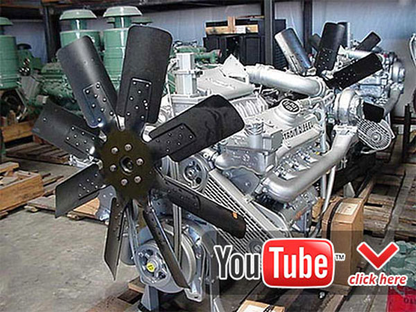 Detroit Diesel 8V92 engine sound