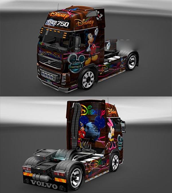 Disney Volvo FH16 skin