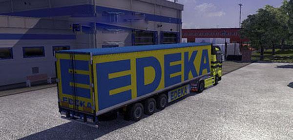 Edeka Trailer Skin