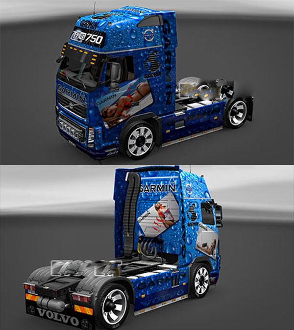Garmin skin for Volvo FH16