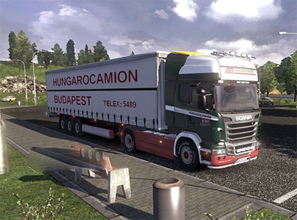 Hungarocamion Trailer