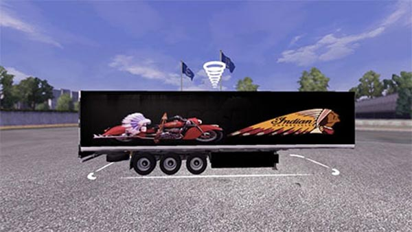 Indian Motorcycles Trailer