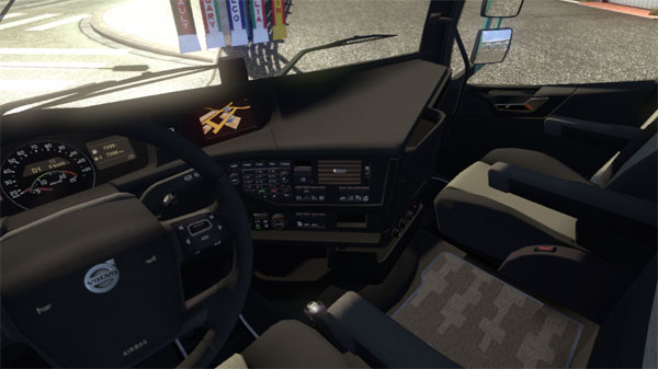 Interior Volvo FH 2013 And Accesories