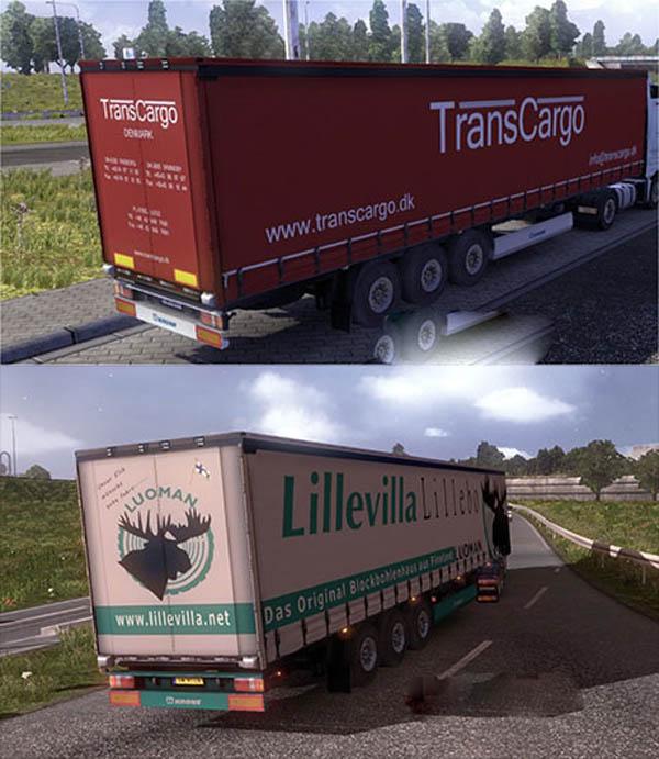 Krone trailer skins