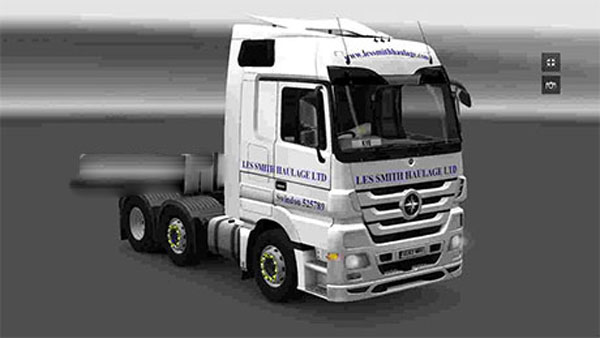 Les Smith haulage skin